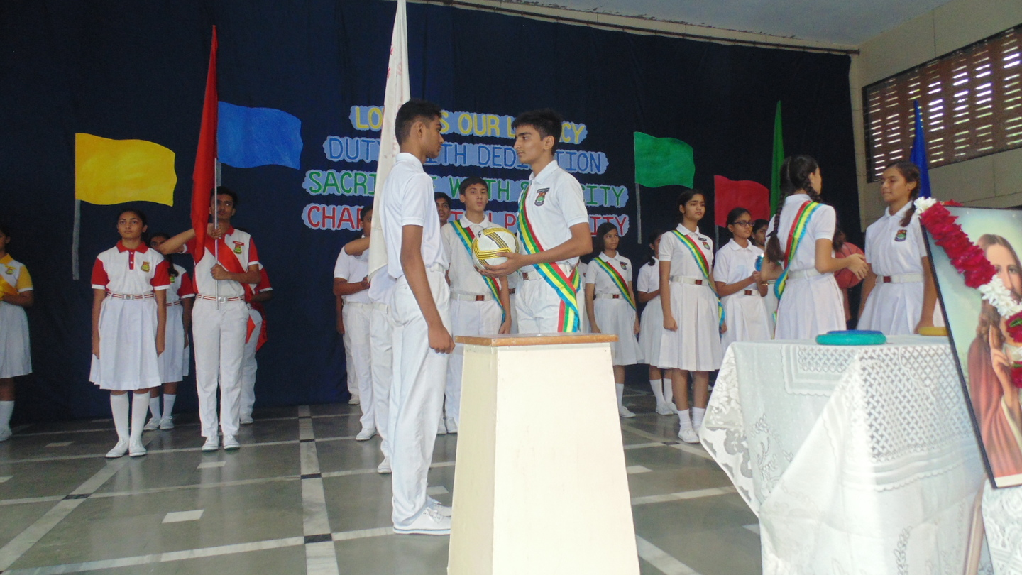 PRIM SEC INVESTITURE CEREMONY